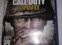 للبيع لعبة call of duty wwii