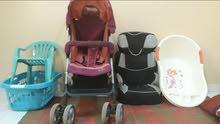 Stroller car seat baby tub 1ستراولر مقعد السيارة حوض استحمام الطفل الكل في 5