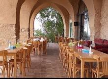 كراسي وطاولات للمقاهي والكافيهات حسب  الطلب