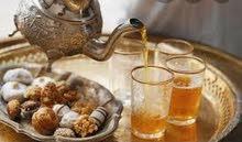 مشروبات بارده وساخنه وحلويات مغربيه