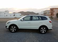 White Hyundai Santa Fe 2012 for sale
