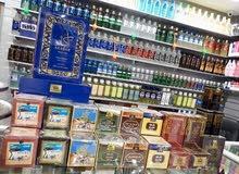 انواع الشاي الصحراوي وحلويات تيرما...