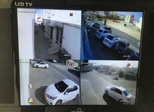 4 كاميرات مراقبة مع التركيب فقط ب 140 ريال