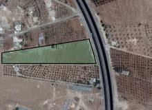 قطعة ارض مساحتها 4 دونم على شارع رئيسي اوتستراد الزرقاء المفرق اربد