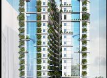 تملك شقتك في اول برج صديق للبيئة في امارة عجمان باقساط على مدى 90 شهر والتملك حر من المالك مباشرة