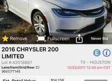 Chrysler 200 2016 For Sale
