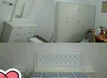 غرفه نوم جديده وطني 6قطع مع التركيب 1300