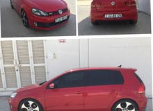 VW Golf GTI red color, GCC 2012 Model. Full option