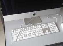 Apple IMac Desktop Computer for Sale كومبيوتر مكتبي آبل بحالة ممتازة للبيع