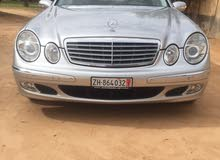 For sale Mercedes Benz E 240 car in Sabratha