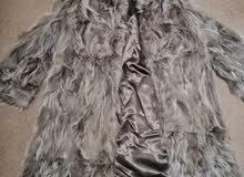 معطف فرو طبيعي
