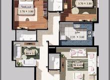 شقة 3غرف للبيع وافراغ فوري