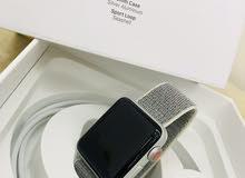 للبيع ساعة ابل اصلية الجيل الثالث 38mm