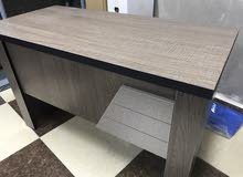 مكتب خشب بحالة الجديد 120 سم