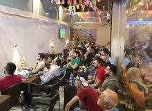 مقهى وكافيه بشارع الجاردنز للبيع بالكامل مع الرخصه