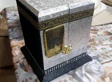 هدية مجسم الكعبه داخل مصحف الكريم قياس المجسم ارتفاع 15 سم عرض 10 سم ب 15 الف عنوان بغداد