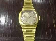 ساعة مميزة أنتيك رادو RADO سويسري أصلي معبأه ذهب بحالة ممتازة
