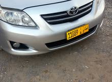 Silver Toyota Corolla 2009 for sale