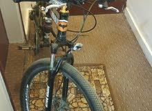 دراجه هوائيه هيدروليك ماركة Super Rally   قابله للطي . نظيفة جدا واستعمال خفيف جدا