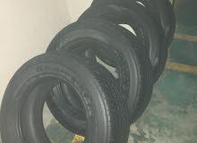 تواير للبيع tires 4 dunlop at 25 285/60 R18 2016 GRAND TREK