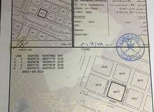 ارض سكني تجاري 400م في مسقط