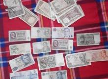 اوراق نقدية لدول العالم نادرة