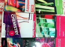 Edexcel AS and A LEVEL Chemistry, biology, physics books and Revision guides