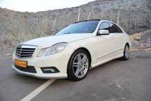 Mercedes Benz E 300 2010 For sale - White color