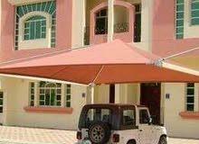مظلات سيارات اغطية مسابح . بيوت شعر . سواتر
