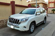 Toyota Land Cruiser Prado - White -2016- TXL 3 with Sunroof