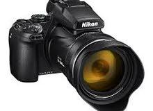 مطلوب كاميرة كانون او نيكون او سوني بسعر ما يتجاوز ال150 $
