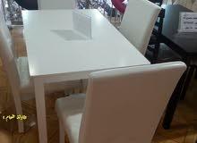 طاولات طعام 4كرسي 6كرسي 8كرسي 10كرسي خشب ماليزي