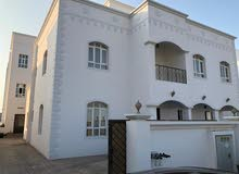 Al Maabilah neighborhood Seeb city - 394 sqm house for sale