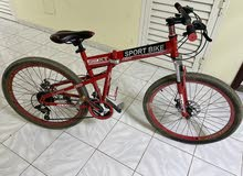 virla Sport bicycles red color عجله فيلرا رياضيه باللون الاحمر
