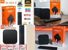 MI BOX(S) 4K ULTRA WITH LIVE TV SYSTEM