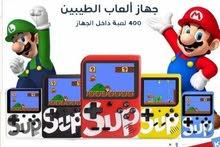 ألعاب نتندو أطفال جديدة ب الكرتون SUP GAME  BOX  400 IN 1