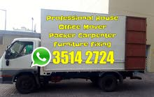 House Shifting Mover Packer in Bahrain Furniture Installation Carpenter