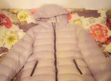 معطف مبطن ومريح