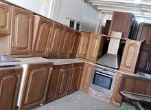 مطبخ نخب اول خشب بلوط للبيع