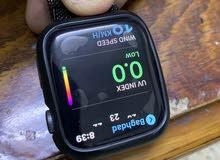ساعة ابل الجيل الرابع حجم 44 نظافة 98٪