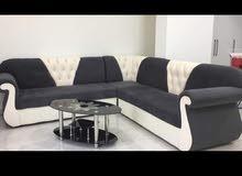 مجموعة أريكة حديثة الطراز l الشكل sofa set new for sale