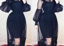 فستان نسائي   قماش تول   السعر 35 الف   القياس -38-40-42--44-46-48 .