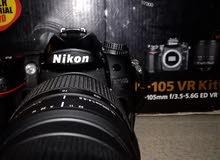 كاميرا نيكون D7000(زوم 70_300 ) نظافة 90%