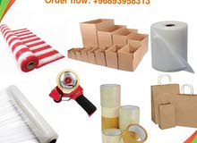 Packaging materials and boxes carton