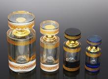 زجاجة عطر أنيقة من الكريستال الفاخر k9.(