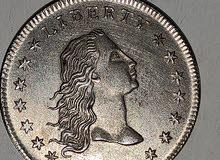 عملة نقدية أمريكية قديمه