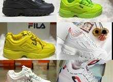 Fila shoes  Size available