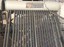 سخان شمسي عدد 2 حنانيا، بحاجة الى صيانة.. للبيع السخانين مع بعض
