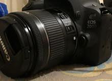 canon 200d + عدسة 18-55