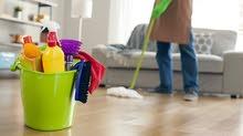 توفر عاملات لتنظيف البيوت والمكاتب والعيادات